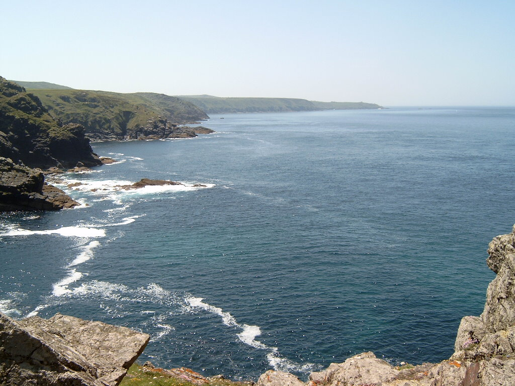 Part of the north Cornwall coast